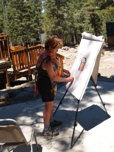 Picture of Artist Painting
